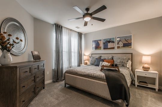 Apartments at Novel range from 730 to 1,400 square feet.