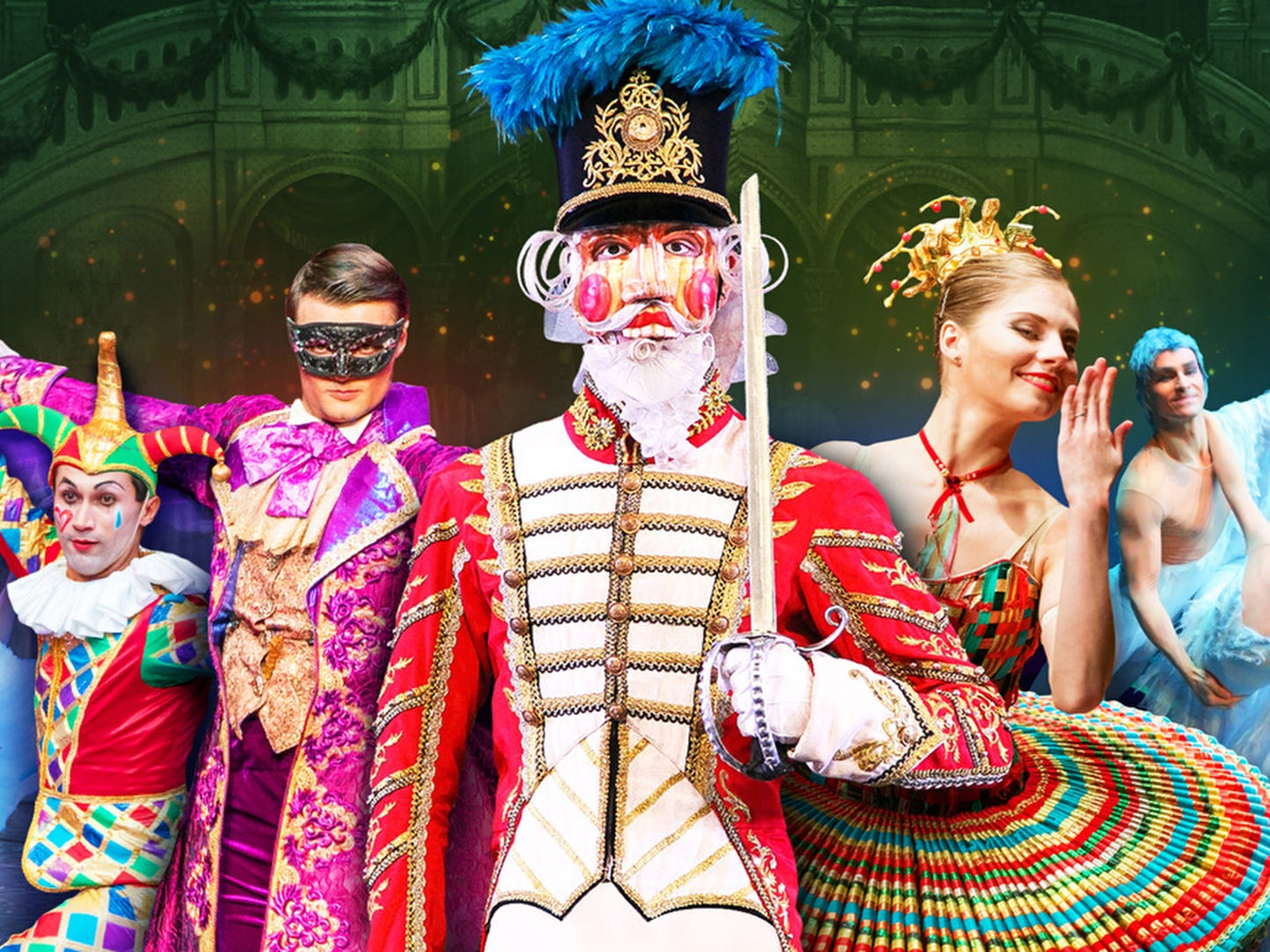 Dec. 24 MOSCOW BALLET'S GREAT RUSSIAN NUTCRACKER: 3 p.m. Ryman Auditorium, $30-$91