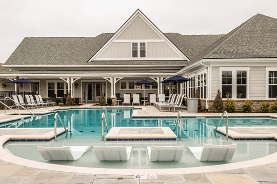 The pool at Novel.