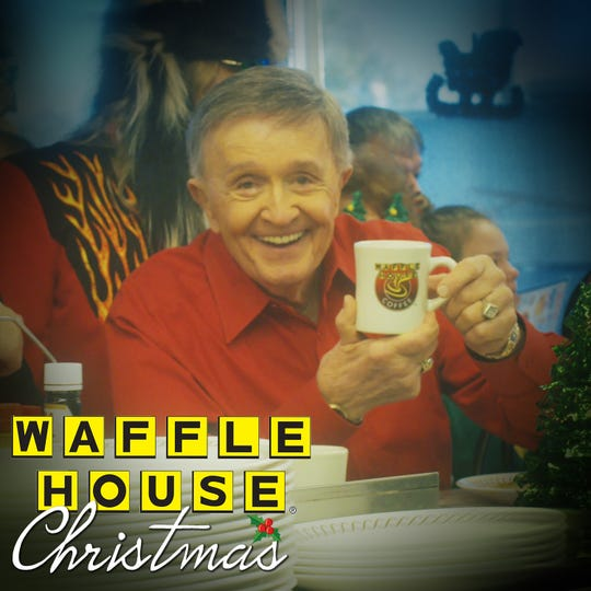 "Bill Anderson's new song ""Waffle House Christmas"" is available now."