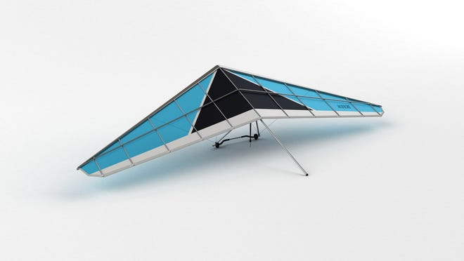 An example of a hang glider.