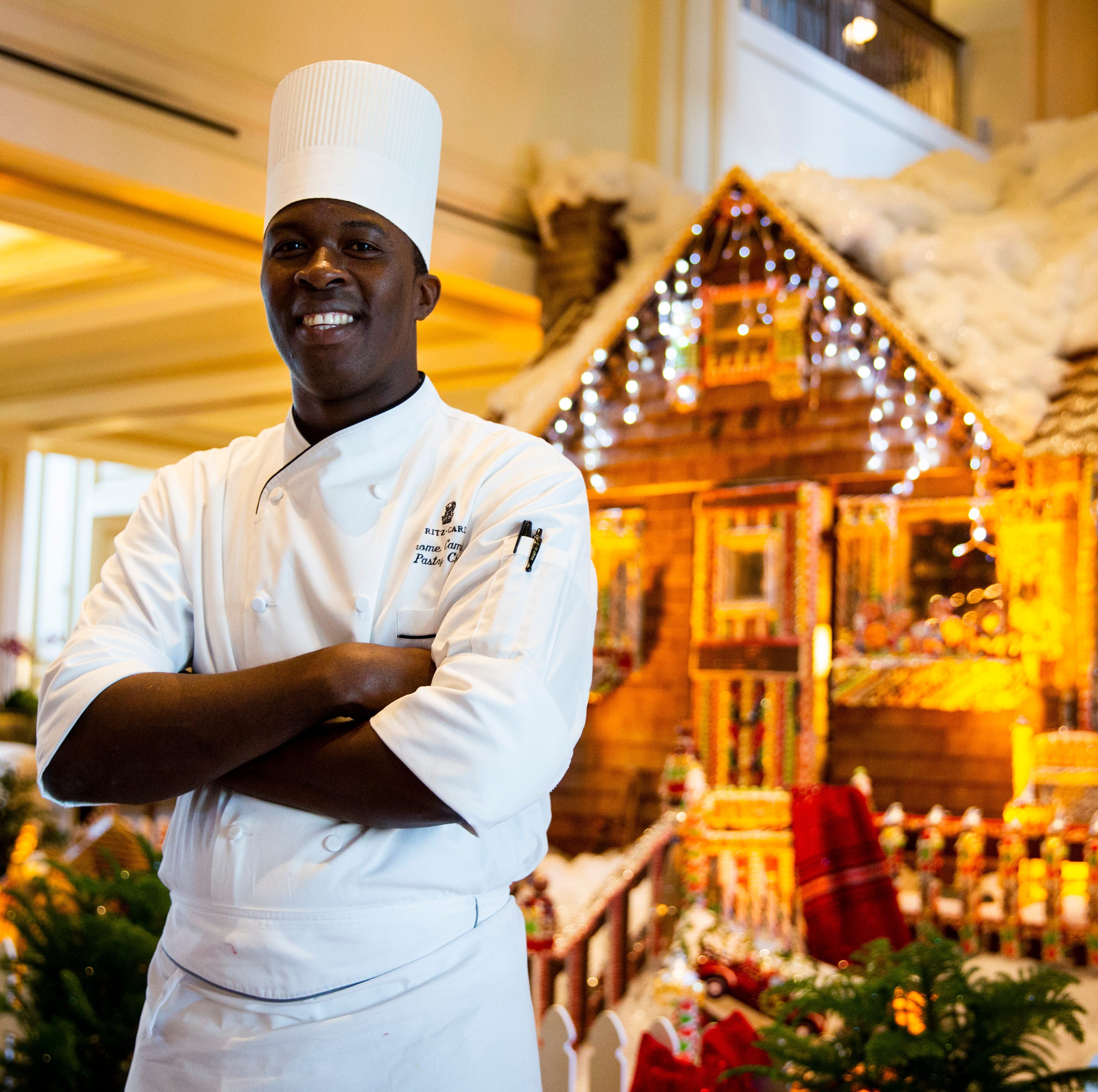 Naples pastry chef advances on Food Network's holiday baking competition