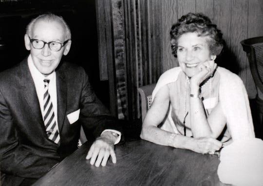 Laverne Norris Gaynor's parents, Lester and Dellora Norris.