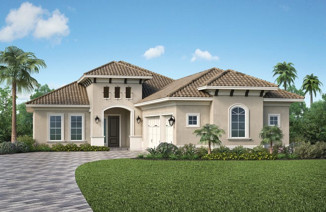 Clive Daniel Home is providing interiors for Stock's Birchwood model in Genoa at Lakewood Ranch.