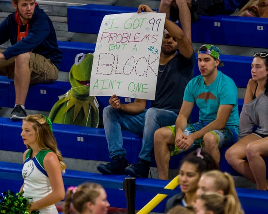 As this Eagles fan knows, FGCU is one of the nation's best blocking teams.