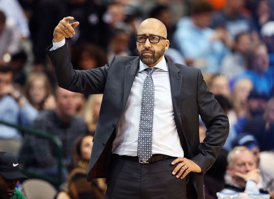 New York Knicks head coach David Fizdale changed his starting five Wednesday, slotting Kevin Knox in for Mario Hezonja.