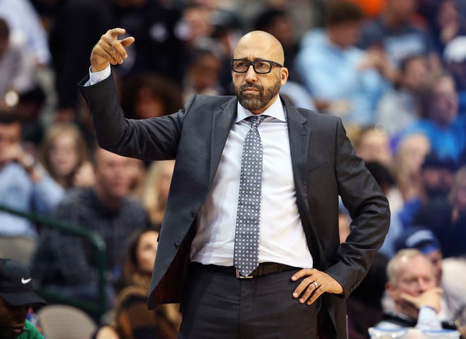 New York Knicks head coach David Fizdale has stuck with the same starting five for eight games.
