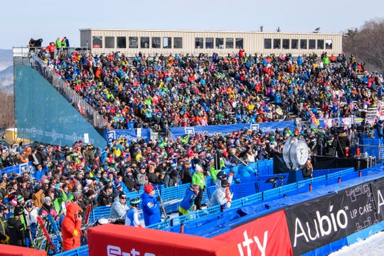The crowd was electric at the 2018 Audi FIS Ski World Cup at Killington, Vermont this past weekend.