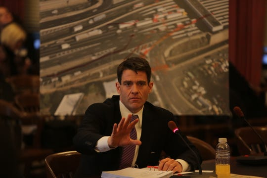 Nov. 25, 2013: Port Authority Executive Director Bill Baroni testifies before the Assembly Transportation Committee about the George Washington Bridge lane closures.