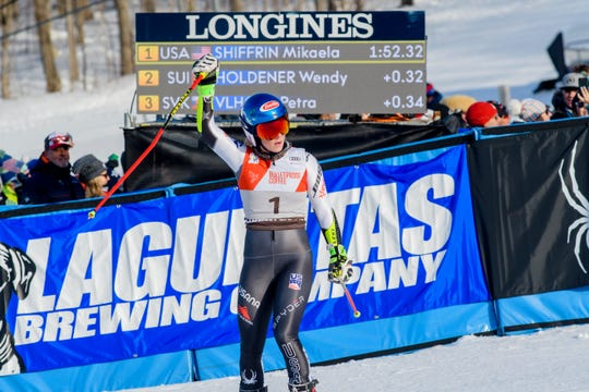 Mikaela Shiffrin took home the title at the 2018 Audi FIS Ski World Cup at Killington, Vermont this past weekend.