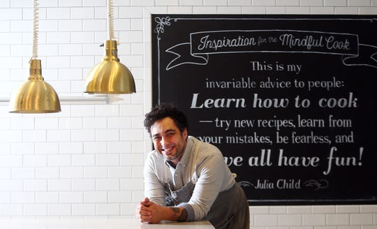 David Viana, executive chef and partner at Heirloom Kitchen in Old Bridge, soon to be appear as a 'Top Chef' contestant. November 27, 2018, Old Bridge, NJ