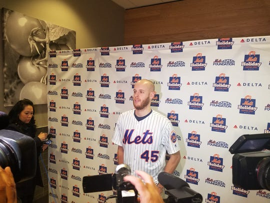 Mets starting pitcher Zack Wheeler