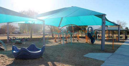 Kids' Zone offers children of all ages and abilities fun filled areas to play. A ribbon cutting ceremony is Friday at 4 p.m.