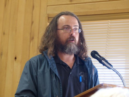Eric Boyda, Ruidoso water rights manager, urged councilors to move ahead with the wetlands mitigation on village land.