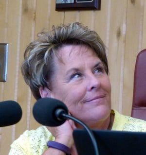 Debi Lee received a one-year contract in June to cover, in part, the transition of Tim Dodge into the village manager's position.