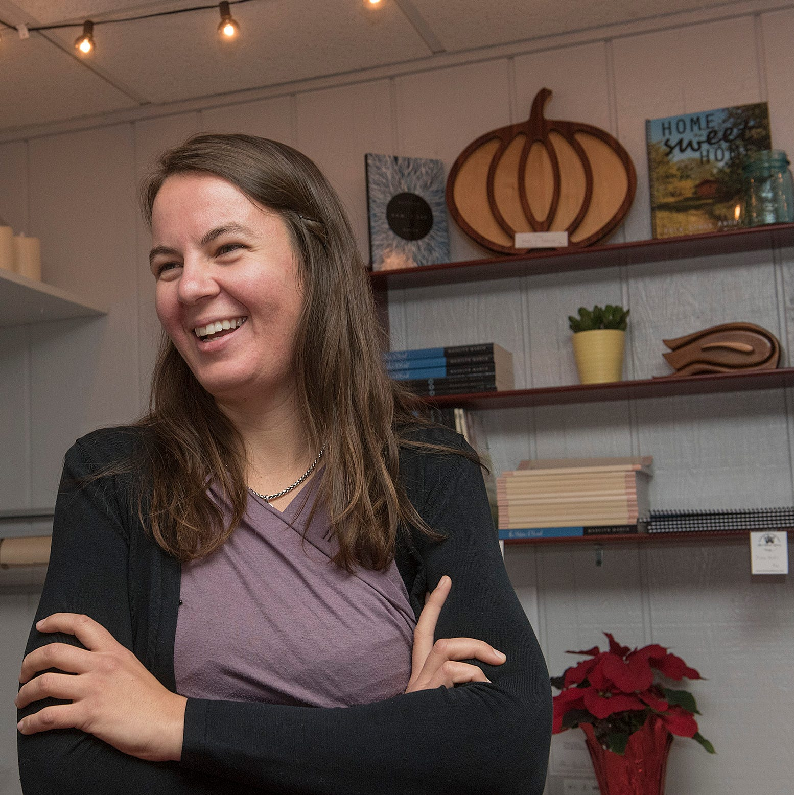 The Whole Berry shop owner invites you to hang out at her new boutique