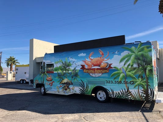 Coachella Valley's only food-truck commissary, in Indio, hopes to grow new businesses