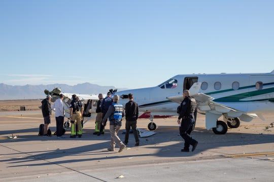 Two planes collided at Mesa Gateway Airport on Wednesday, Nov. 28, 2018.