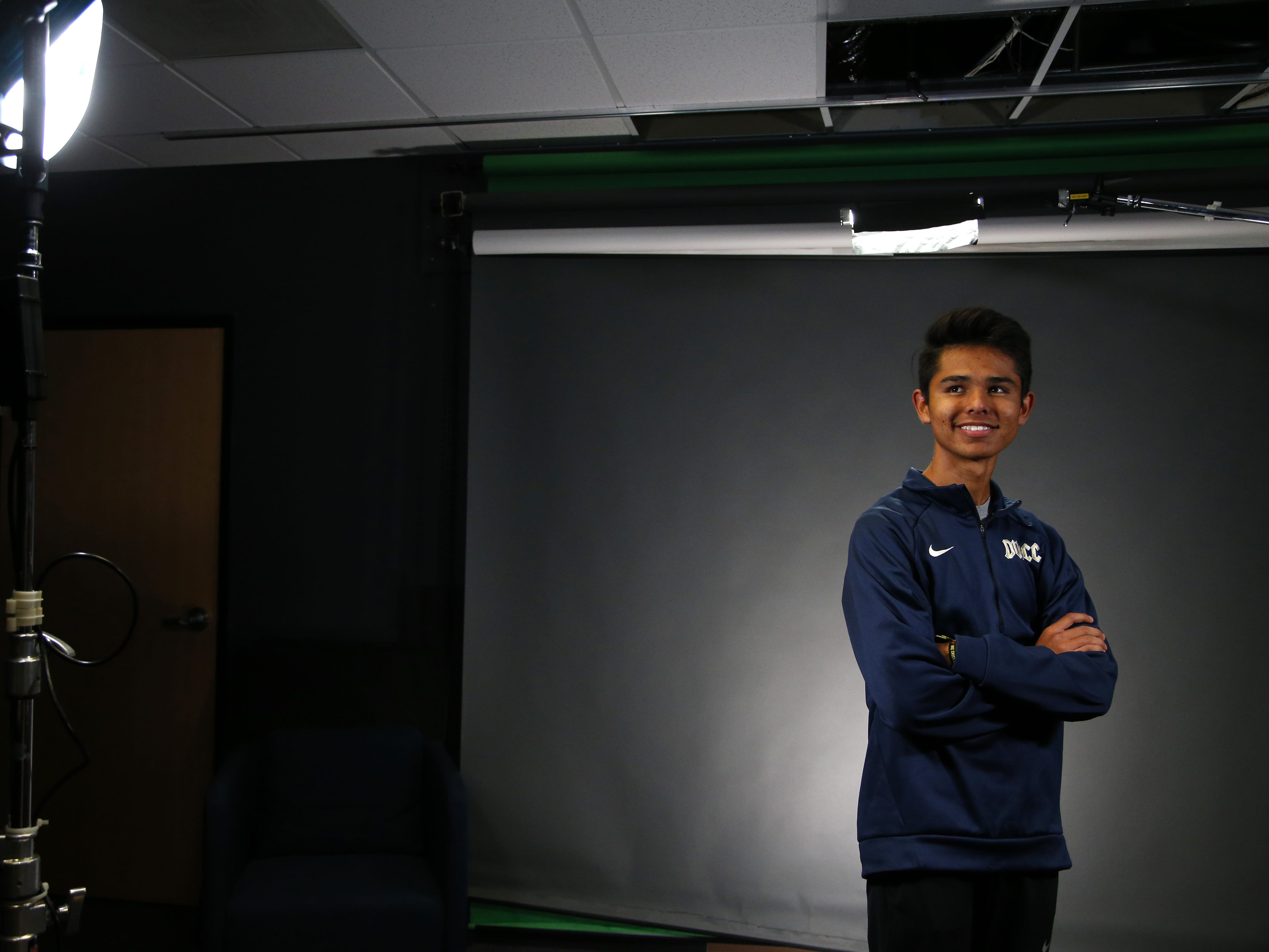Desert Vista Lee Nasewytewa North Phoenix Prep Jordan Black is a nominee for azcentral Sports Awards High School Boys Cross Country Runner of the Year. #azcsportsawards