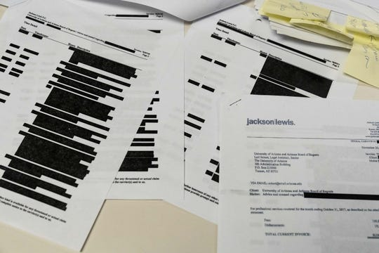 The University of Arizona has heavily redacted legal bills stemming from an FBI investigation into college basketball recruiting. Since the arrest of a former Wildcats assistant coach in October 2017, the university has paid two law firms at least $1.4 million, the bills show.