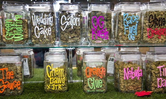 GreenPharms Dispensary features medical-marijuana products from edibles and drinkables to flowers and concentrates, and there are weekly specials offered.