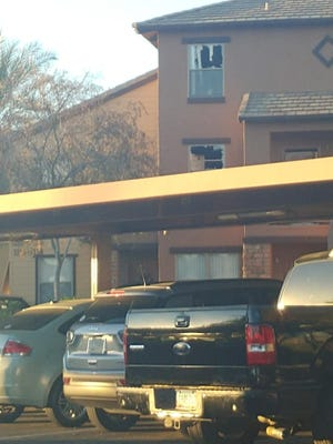 Police exchanged in hours long negotiation, after a man refused to leave a Mesa apartment.