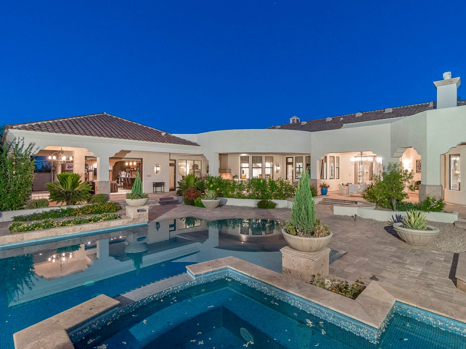 Stephen M. Horvath purchased a mansion in Scottsdale's Cactus Acres community. The 8,036-square-foot house has six bedrooms, eight bathrooms and sits on an 1.1-acre lot.
