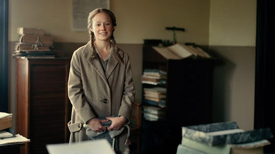 "Alba August in ""Becoming Astrid."""