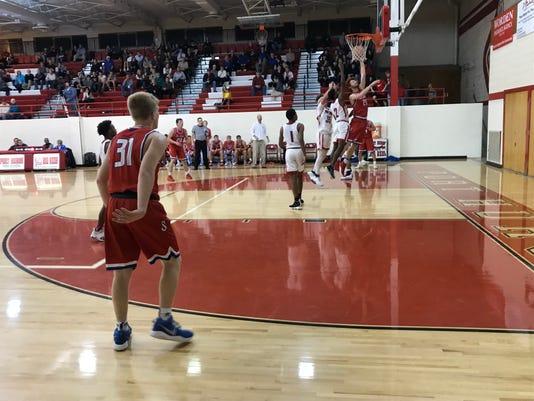St. Clair basketball