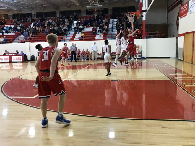 The St. Clair boys basketball team defeated Port Huron, 54-37, Monday night at Port Huron High School.
