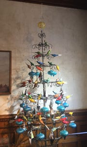 Specialty designs in glass ornaments are featured at Matt McGhee in Hudson.