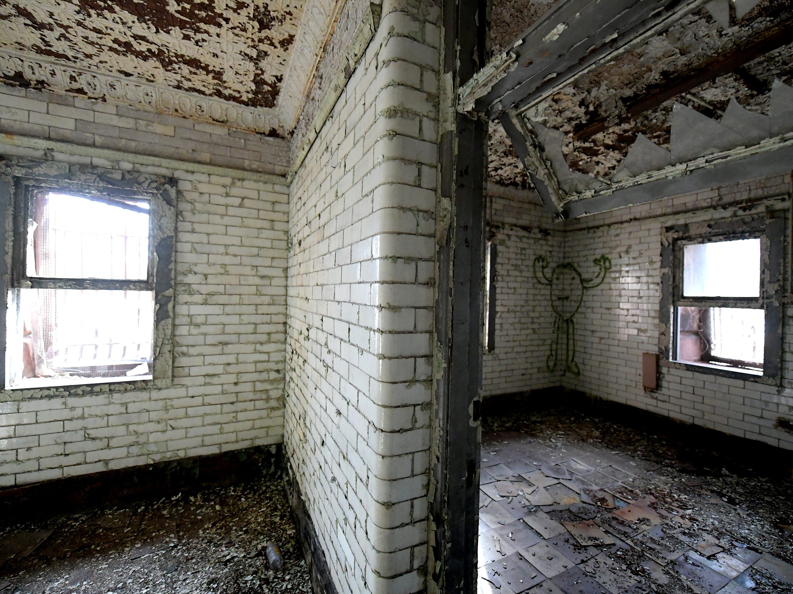 An office space in the former York County Prison on Chestnut Street in York City Wednesday, Nov. 28, 2018. United Fiber and Data has purchased the building and plans to incorporate the structure into a data center to accompany a 400-mile fiber-optic network it's building between New York and Virginia. Bill Kalina photo