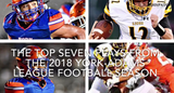 Elijah Workinger, Nyzair Smith, Dayjure Stewart and Taylor Wright-Rawls show up on the list of the top seven plays from the 2018 Y-A football season.
