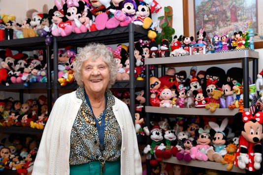 West York Great Grandmother Avid Mickey Mouse Collector