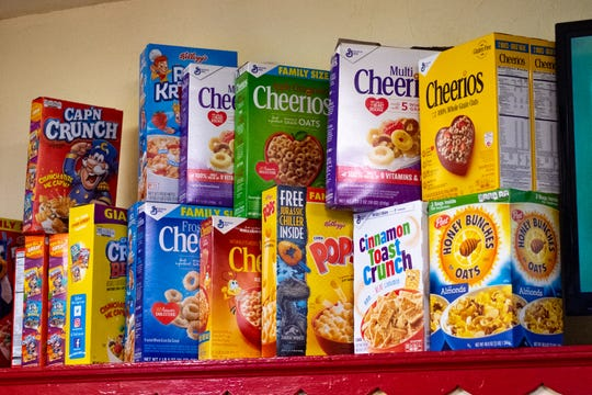 More than 100 cereals will be on the menu at Higher Life Cereal Cafe opening Feb. 1, 2020, at 8949 E. Washington St., at Post Road, in Indianapolis.