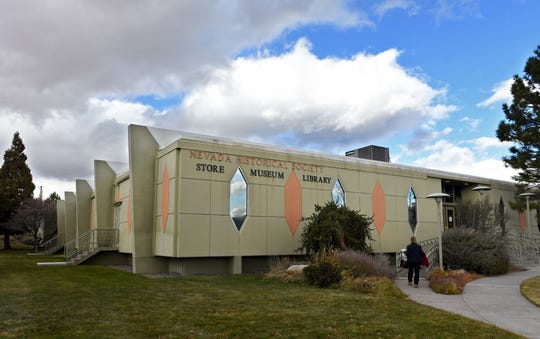 The Nevada Historical Society on the UNR campus, Nov. 28, 2018.