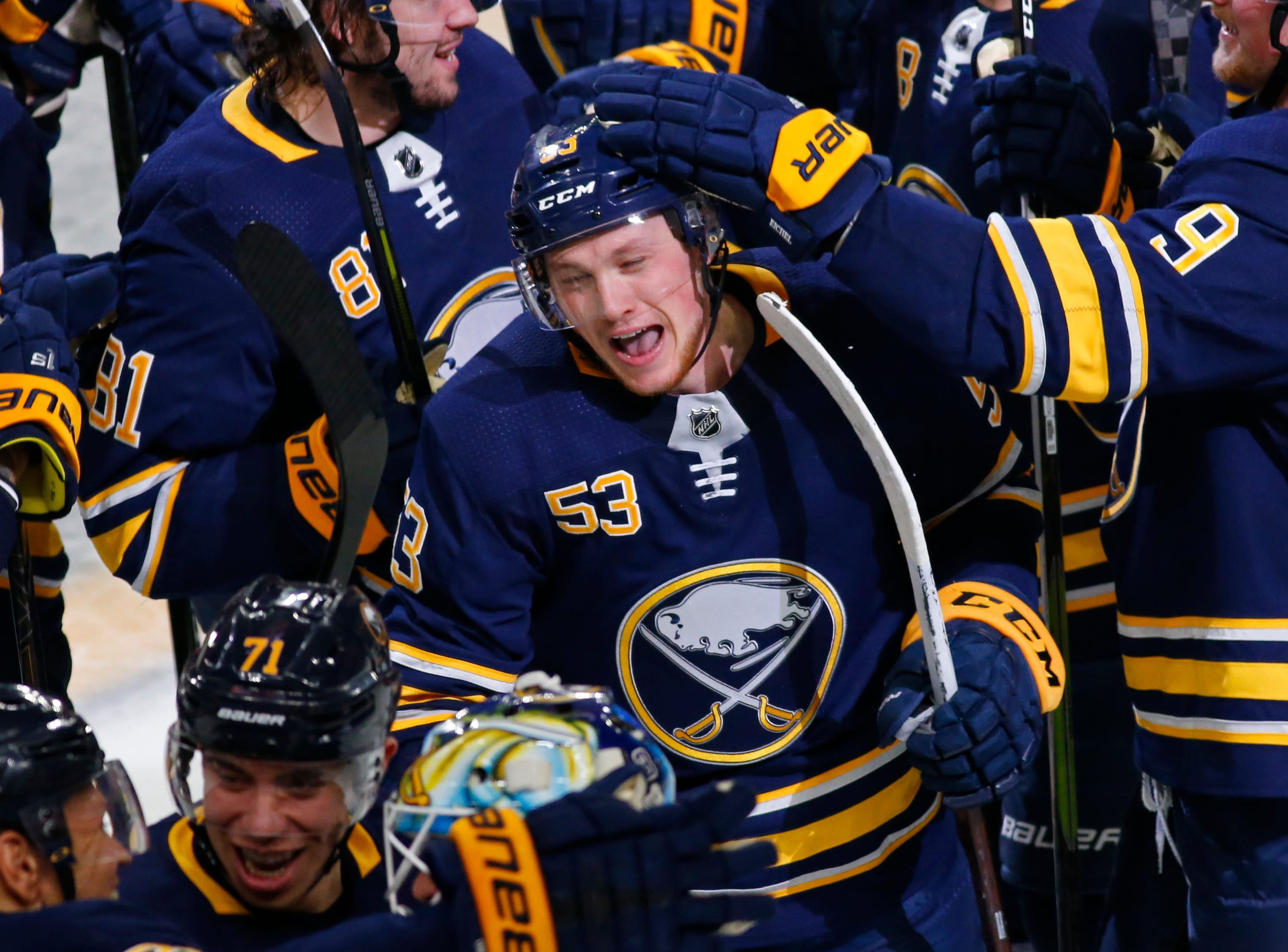 Roth: Buffalo Sabres are a perfect 10, beat San Jose Sharks in another OT thriller