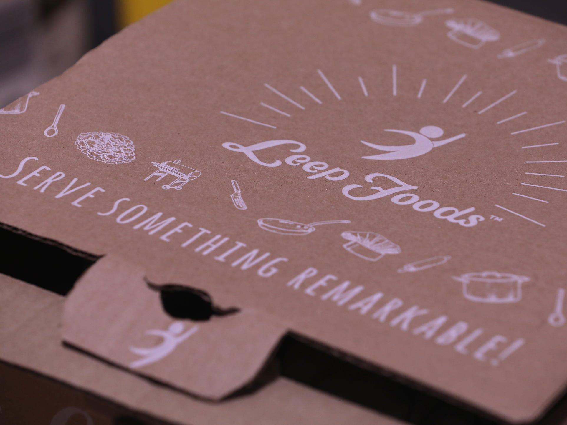 Packaging for Leep Foods.