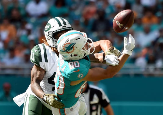 Nfl New York Jets At Miami Dolphins