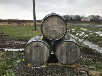 Pantomime Mixtures sits on a 40 acres in Schuyler County. It'll be the first brewery in the area to focus on wild and spontaneous beers.
