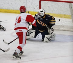 Section V hockey: Penfield rallies to beat Victor in overtime