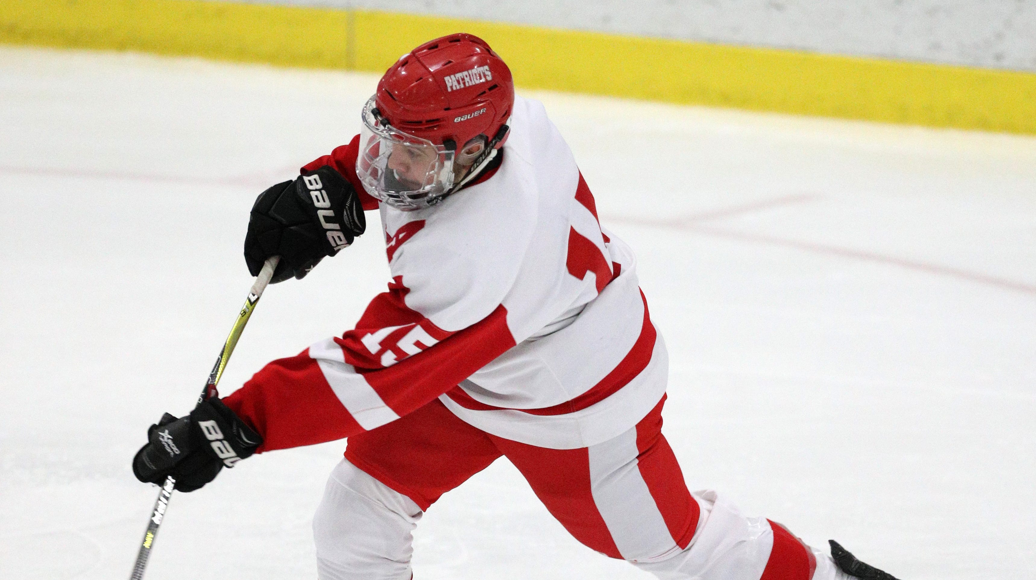 Bradley's game-winner in OT gives Penfield hockey win over Victor in Class A final rematch
