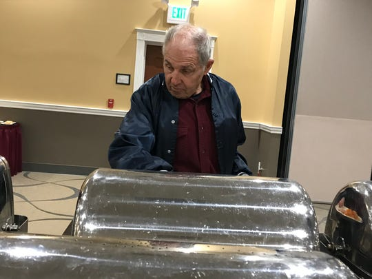 Paradise resident Dale Wingett was displaced by the Camp Fire.