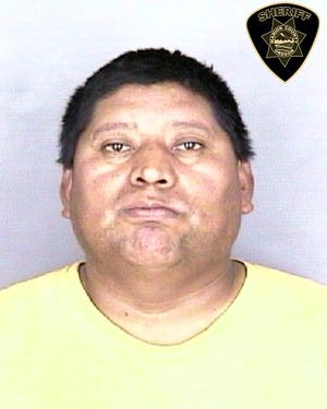 Luis Herrera Alvarez, 41, was arrested on manslaughter and DUI charges following a fatal Marion County crash.