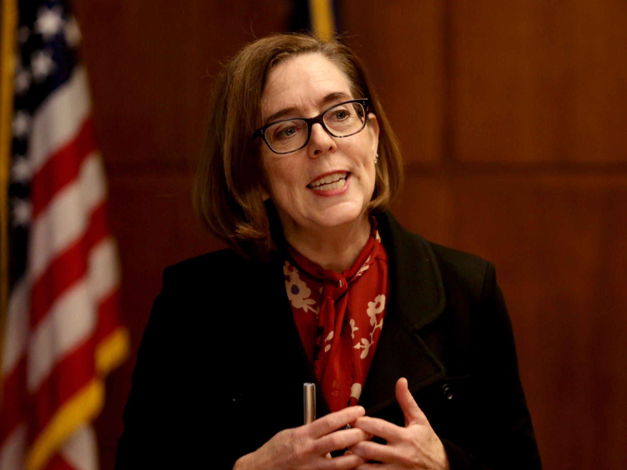 Gov. Kate Brown's proposed budget stresses education, health care, voting reform
