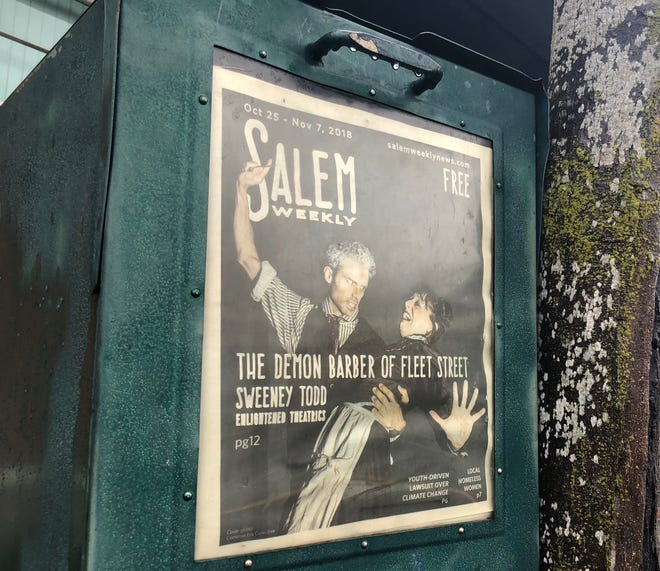 """The last published issue of Salem Weekly, which has closed """"effective immediately,"""" according a letter shared with the Statesman Journal."""