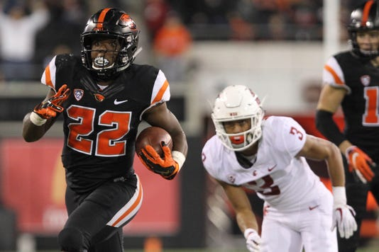 Ncaa Football Washington State At Oregon State