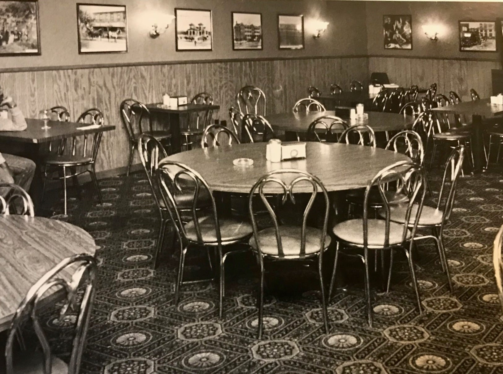 Harry Mrema sits alone at Shakey's Pizza in San Angelo watching as the Dallas Cowboys are defeated by the Los Angeles Rams in the 1986 NFL playoffs.