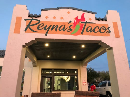 Reyna's Tacos serves up two street style tacos and hope to create a fun, family environment at 226 S Abe St.