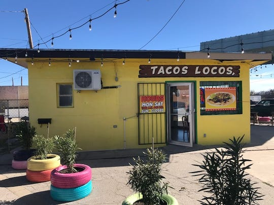 Exterior of Tacos Locos The Real Mexican Flavor, 1724 S Chadbourne Street, Wednesday, Nov. 28, 2018.